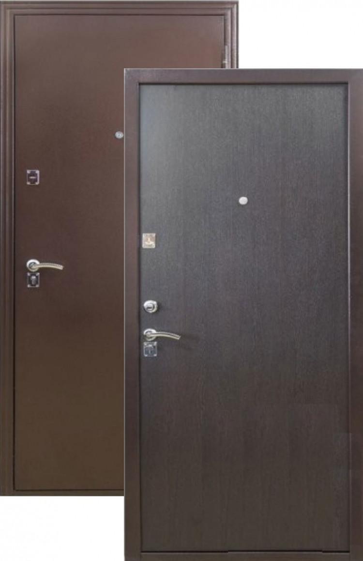 Двери входные металлические ДС 150 венге