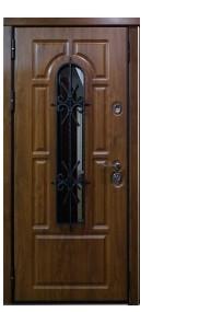 Дверь входная металлическая утепленная Bari без патины