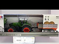 Трактор на дистанционном управлении