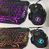 Мышь проводная T6 меняет цвет!