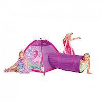 Детская палатка Единорог с туннелем