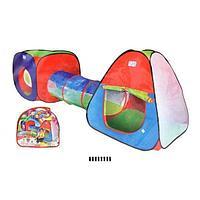 Детская игровая палатка с тоннелем 999, фото 1