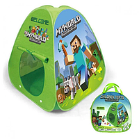 Детская палатка Майнкрафт