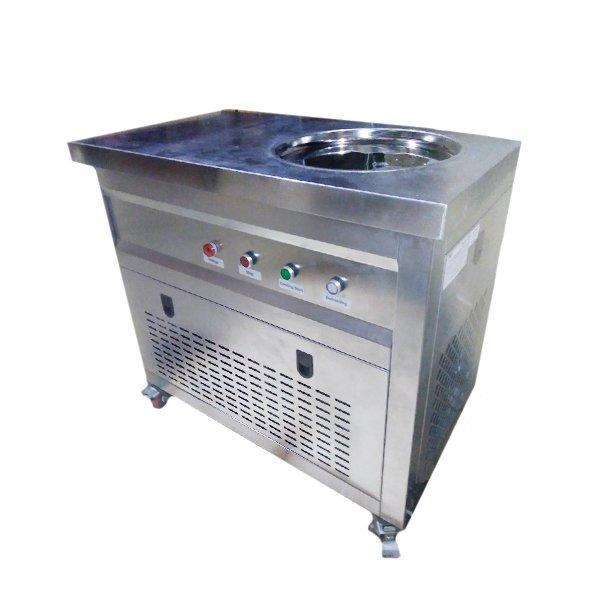 Фризер для ролл мороженого KCB-1Y Foodatlas (контейнеры, стол для топпингов, контроль температуры)