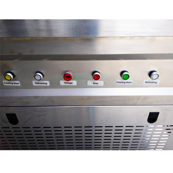 Фризер для ролл мороженого KCB-2F Foodatlas (стол для топпингов, 2 компрессора)