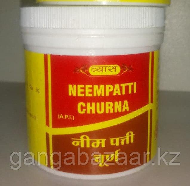Ним чурна (Neempatti churna) очищение крови, лимфы, антисептик, 100 гр