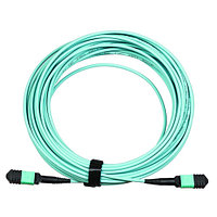 LANMASTER Сборка кабельная MPO-MPO, тип B, низкие потери оптический кабель (LAN-12M-12M/OM4B-3.0)