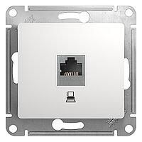 GSL000181K Glossa - компьютерная розетка - RJ45 cat.5e UTP - белый