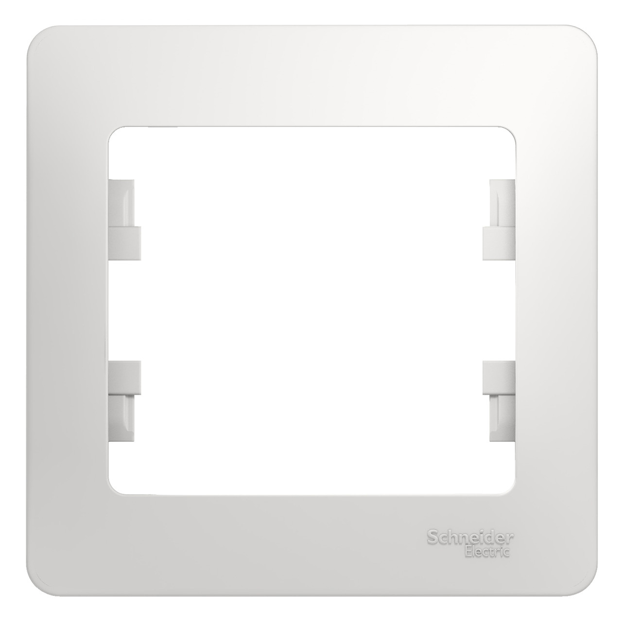 GSL000101 Glossa - Рамка - 1-постов. - белый