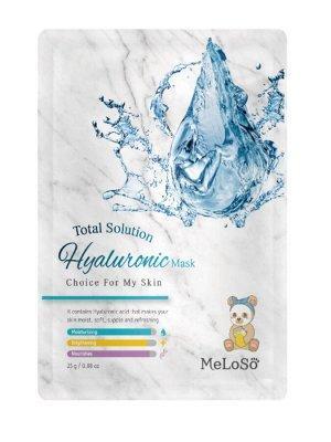 Meloso Total solution hyaluronic mask Маска тканевая для лица с гиалуроновой кислотой, 25 гр