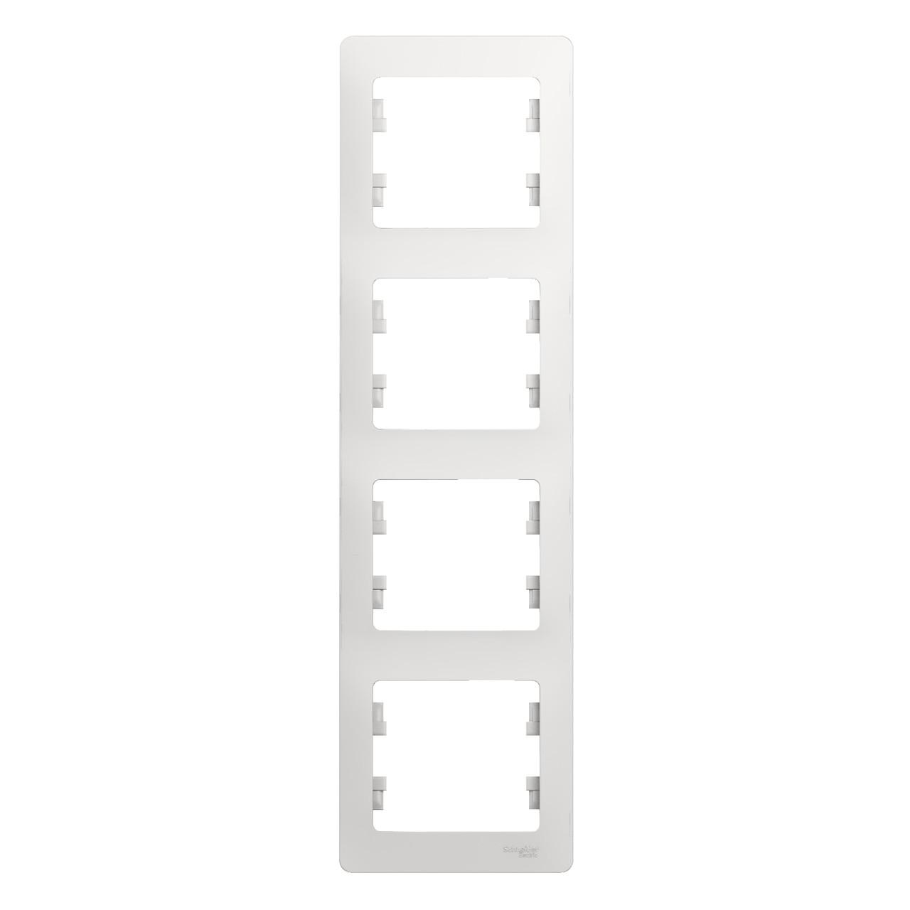 GSL000108 Glossa - вертикальная - 4-постов.  - белый