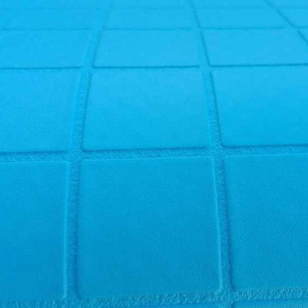 ПВХ мембрана Cefil.DWP RPL 150 165 URDIKE TESELA (синий мозайка 3D)