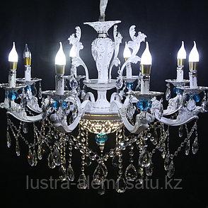 Люстра Классика 1777/8 BLUE, фото 2