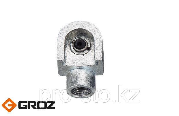 Переходник-насадка цилиндрической формы из черных металлов для смазочного шприца GROZ HОC/1/B Арт. GR43574
