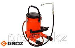 Нагнетатель смазки высокого давления с ножной накачкой GROZ FOP/10A (GR44255)
