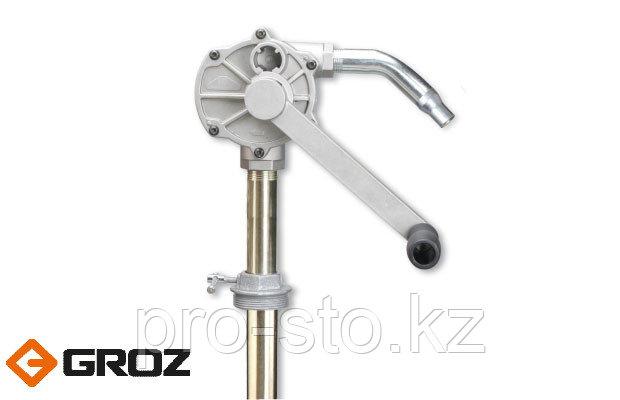 Роторный насос для топлива с ПВХ-шлангом