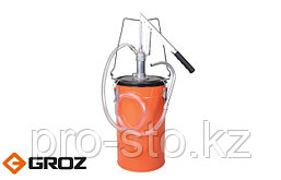 Ручной маслонагнетатель с емкостью 16 л