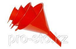 Воронка пластиковая с прямым сливом