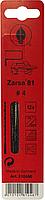 Пилки лобзиковые по дереву, Zarsa 81 N4, спиральные, D1,3х130мм, 36 TPI, 12шт.