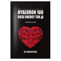 Маска тканевая MEDI-PEEL Hyaluron 100 Rose Energy Tox Ampoule Mask 30ml.