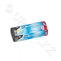 PAP STAR Мешок для мусора 30л 17мк 50х60см 20шт/рл Ps серый