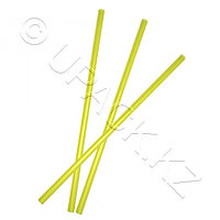 Kazakhstan Трубочка d0,8x25см желтая 500шт/уп без гофры