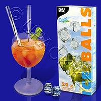 PAP STAR Пакет для ледяных кубиков 18х34,5см 20пакетов/480кубиков
