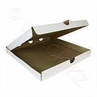 Россия Пицца-коробка гофра 33х33х4см 50шт/уп белая