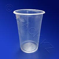 Kazakhstan Стакан пластиковый PP 500мл прозрачный 50 шт/уп