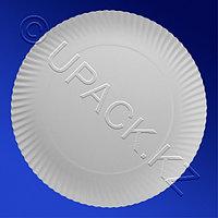 PAP STAR Тарелка одноразовая картон d29см белая 100шт/уп