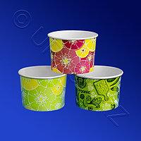 Виридо Креманка бумажная 250мл для холодного Цитрус зеленый