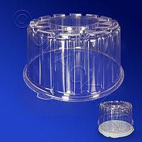 Kazakhstan Крышка к упаковке для торта d16,4х9,4см внутр 2000мл PS прозрачная 280 шт/кор ПР-Т-165 К
