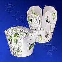 Россия Упаковка для лапши Wok с рисунком 500 мл d9см h7,8см