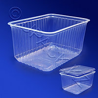 Kazakhstan Контейнер пластиковый 1500мл PP прозрачный 18х13х9,5см