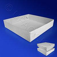 Kazakhstan Пицца-коробка 25х25 бел 200шт/уп ДНО