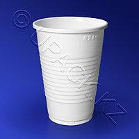 Kazakhstan Стакан пластиковый PP 200мл белый матовый 100 шт/уп Упакс Юнити