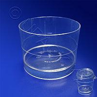 Аэроснаб Мини-сервиз чашка Ноль PS 60мл d5,3см h4,0см 15шт/уп