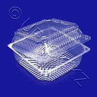 РОССАНПАК Упак конт 3250мл 20,2х20,2х8,3см с нераздел крышкой