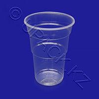 KREIS M Стакан пластиковый PP 500мл прозрачный 65 шт/уп