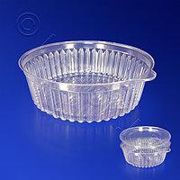 Kazakhstan Контейнер пластиковый 350мл PS прозрачный d13,2х4,2см 500 шт/кор ИПК-350 А
