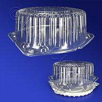 Kazakhstan Крышка к упаковке для торта d23х12см внутр 4900мл прозрачная 220 шт/кор ИП-225 КВ