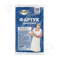 Россия Фартук 30мк PE125х81см 50шт/уп белый