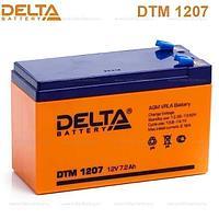 Delta DTM1207 12V 7Ah DELTA Battery AGM аккумулятор.