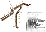Угол наружный (внутренний) 90 град. для желоба d=125 мм, RUPLAST (коричневый)   тел./watsapp +7 701 100 08 59, фото 3