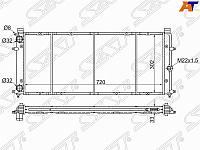 Радиатор VW TRANSPORTER T4 1.8 /1.9D /2.0 /2.4D /2.5 1990-2003(трубчатый)