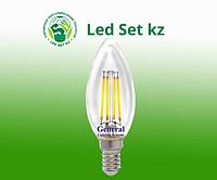 Лампа GLDEN-CS-DEM-8-230-E14-4500