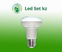 Светодиодная лампа диммируемая LED-R63-11W/WW/E27/FR/DIM ALP01WH пластик