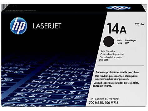 HP CF214A Картридж лазерный черный HP 14A для LaserJet Cartridge for LaserJet 700 M712/MFP M725