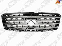 Решетка INFINITI FX35 /45 /50 03-05 черн /хром
