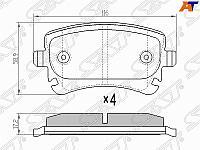 Колодки тормозные зад VW MULTIVAN 03- /TRANSPORTER 03-09 /AUDI A4 03-08 /A6 06-11 /A8 02-10 (без дат
